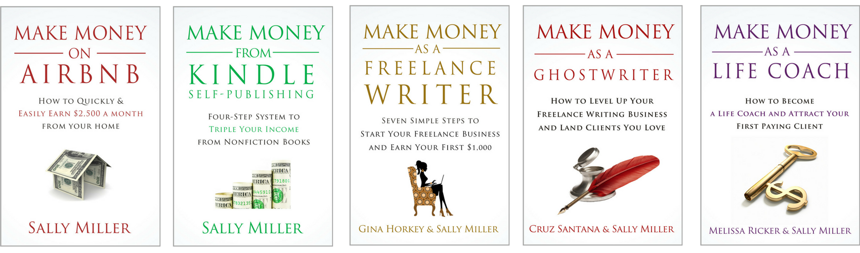 Author success blueprint heres an image of the books in my paid to stay home series malvernweather Gallery