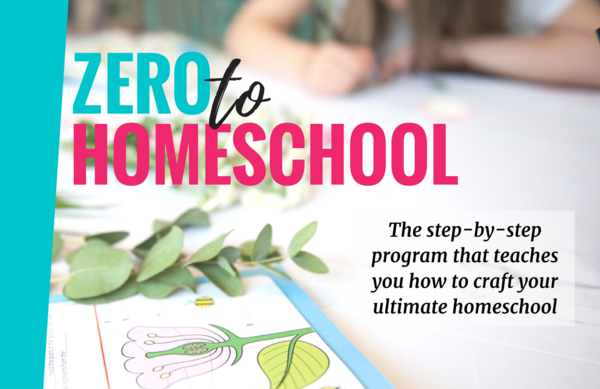 Thumb zero to homeschool cover picture