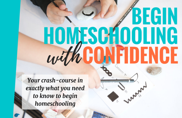 Thumb begin homeschooling with confidence cover picture