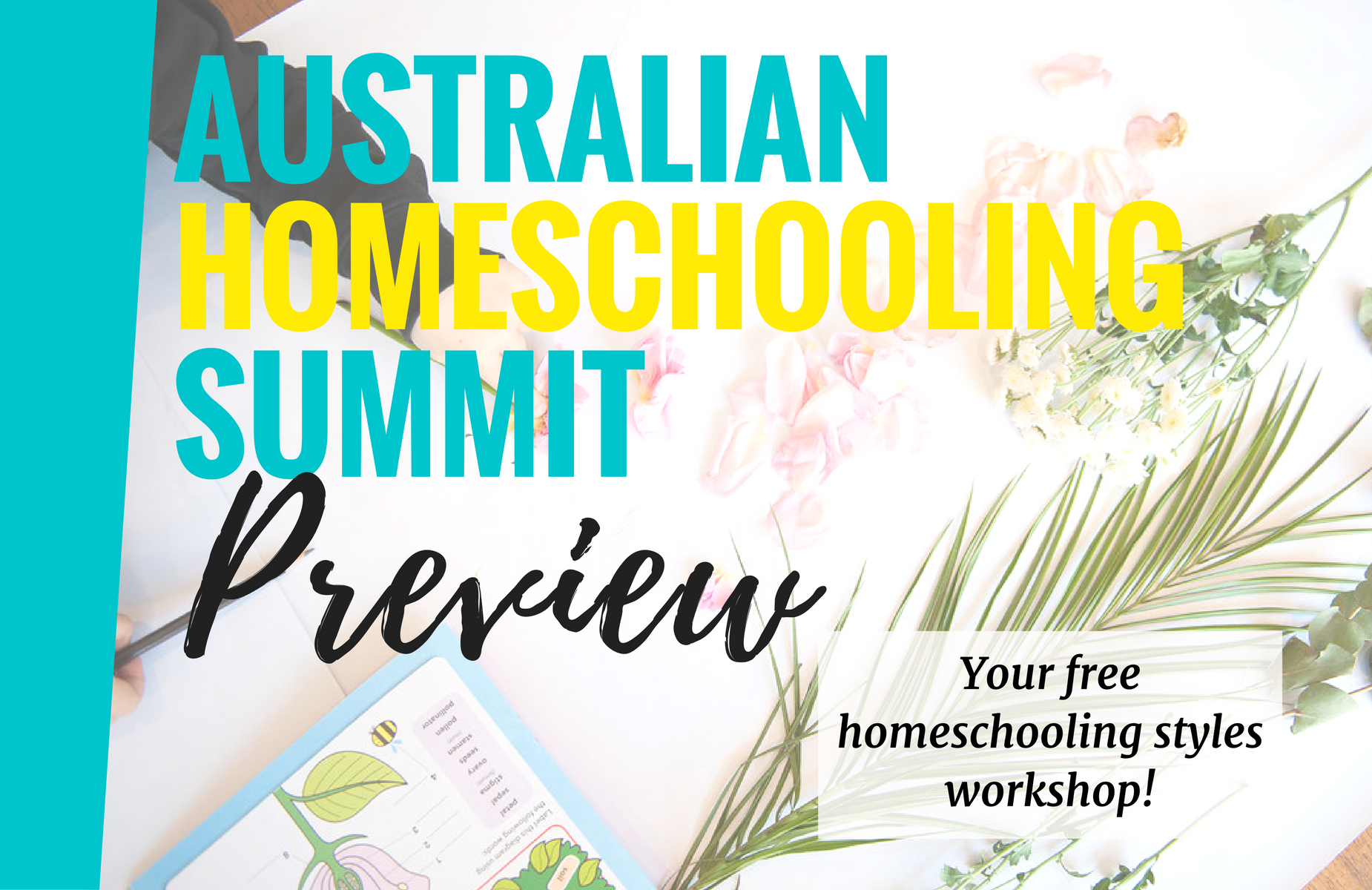 Header australian homeschooling summit preview cover picture
