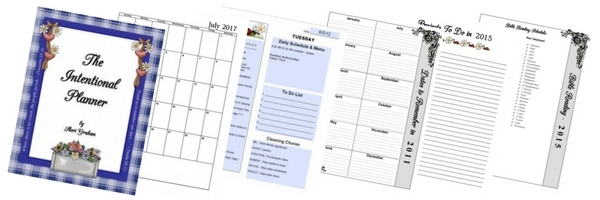 Thumb intentional planner