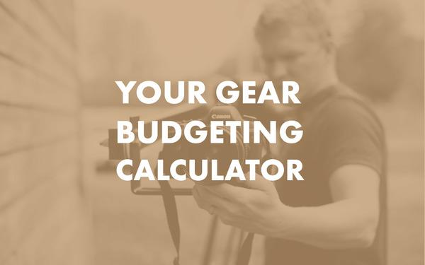 your gear budgeting calculator