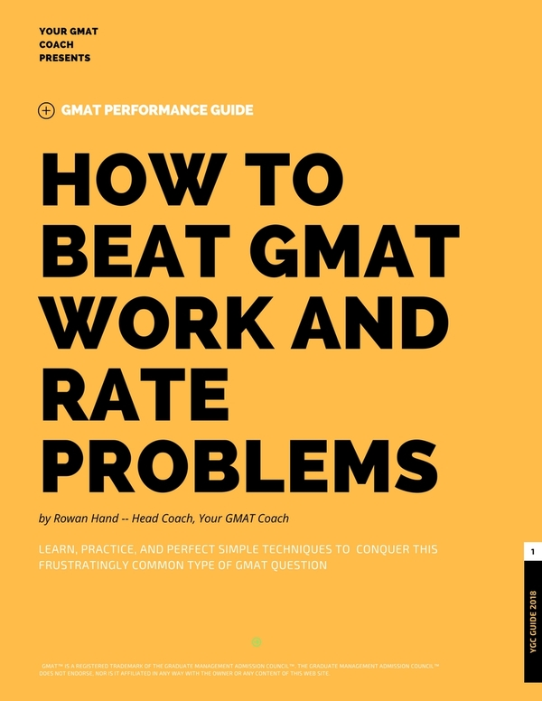 Thumb how to beat gmat work and rate problems
