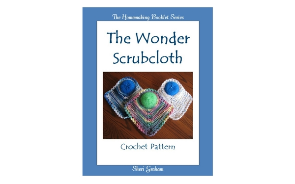 Thumb the wonder scrubcloth crochet pattern