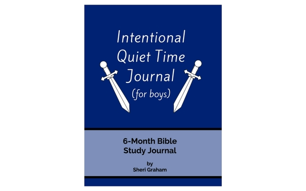Thumb intentional quiet time journal for boys