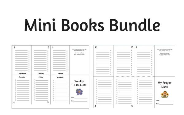 Thumb mini books
