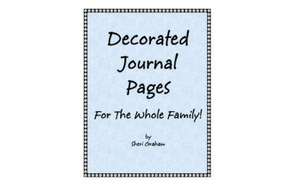 Thumb decorated journal pages for the whole family