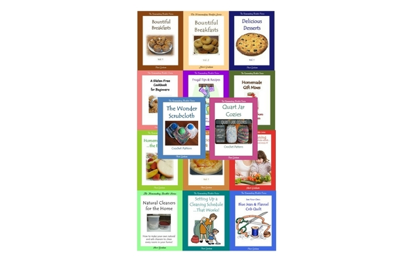 Thumb the homemaking booklet series bundle