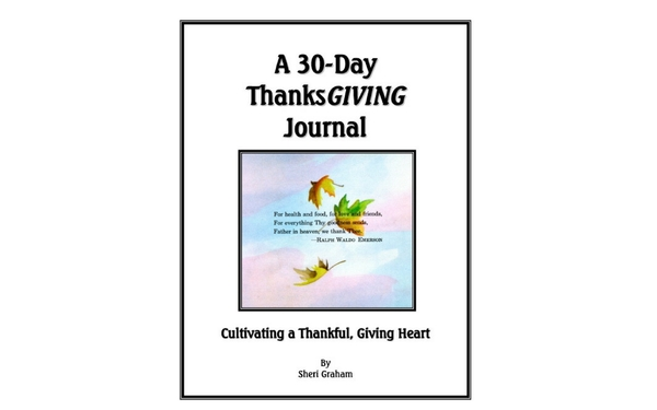 Thumb a 30 day thanksgiving journal