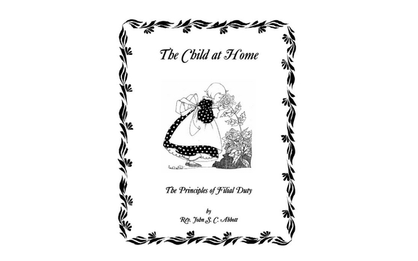 Thumb the child at home